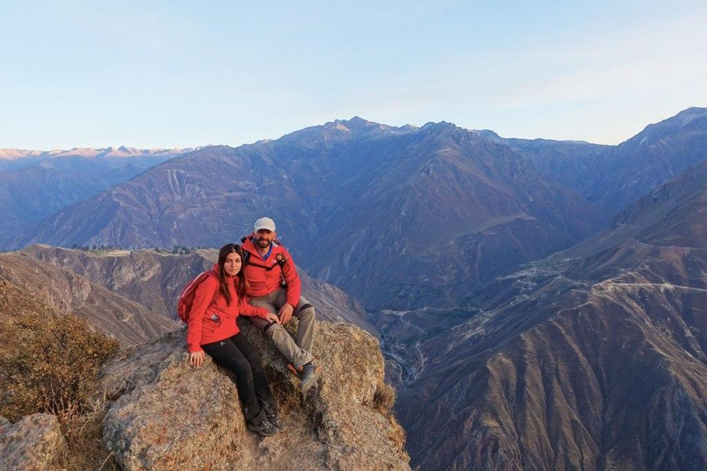 escursione trekking valle del colca canyon capanaconde itinerario viaggio quindici giorni in perù