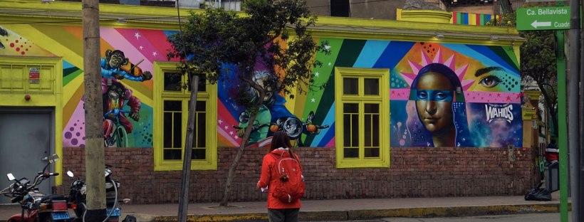 murales barrio miraflores itinerario viaggio in perù quindici giorni