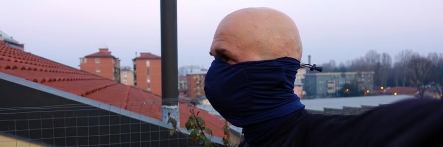 fascia collare scaldacollo mascherina antismog antivirus
