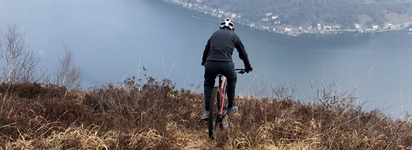 mountain bike punta paradiso valceresio