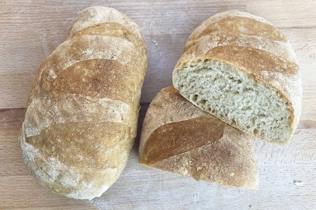 pane fatto in casa a termini cottura