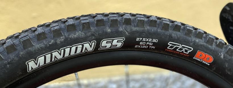spalla di un pneumatico per mountain bike
