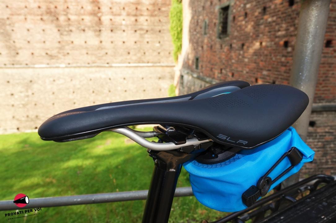 una sella per bicicletta