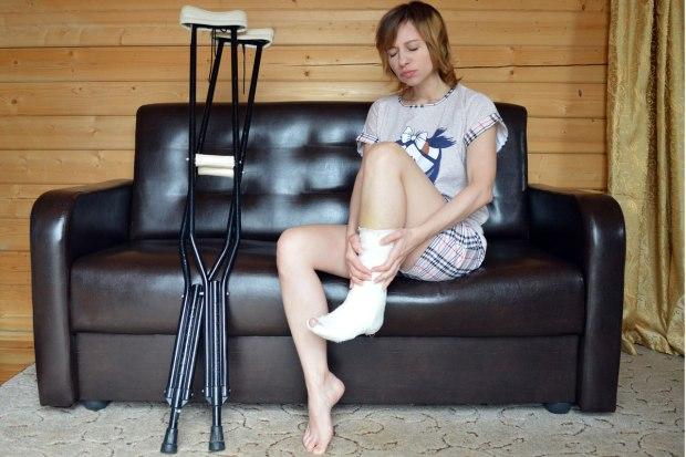 Distorsione alla caviglia e terapia di recupero