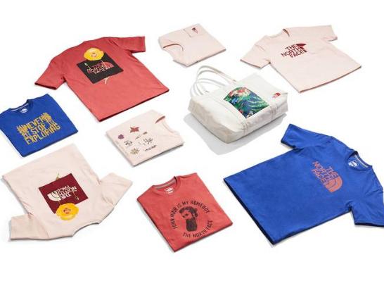 accessori e t-shirt prodotti dal riciclo della plastica