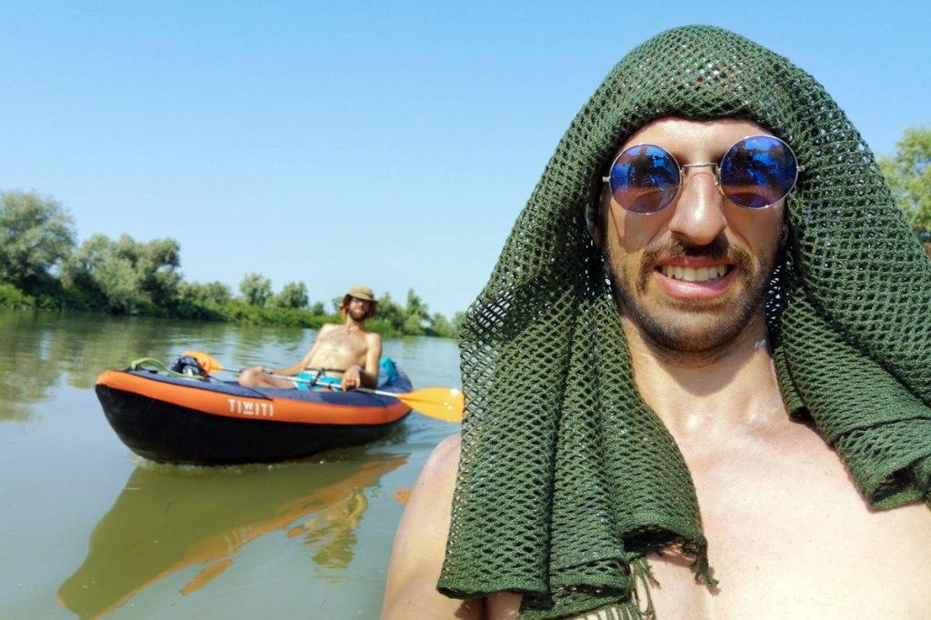 In Kayak sul Po